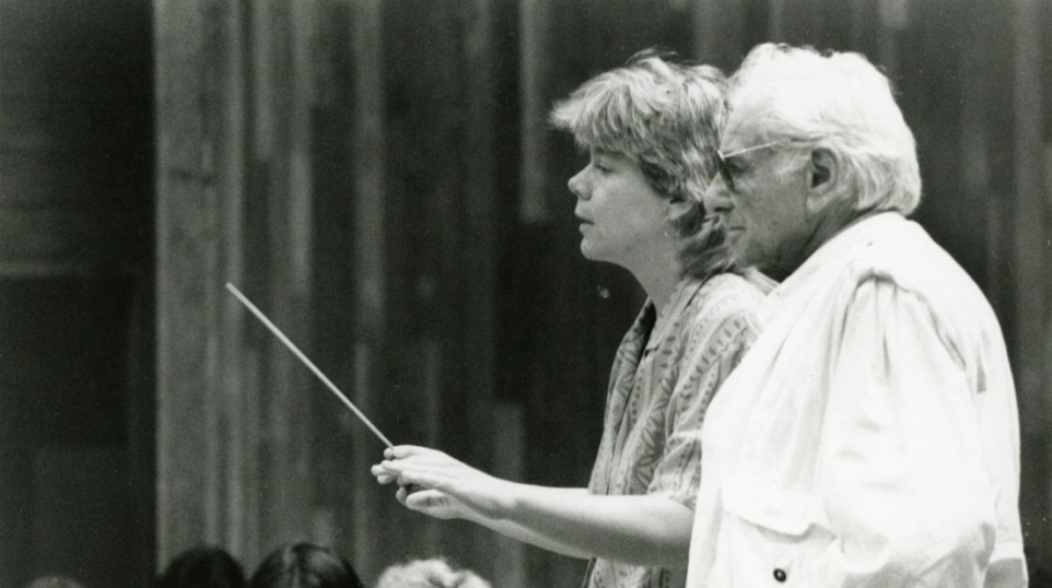 The most important lessons conductor Marin Alsop learned from her mentor Leonard Bernstein