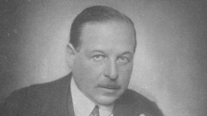 Composer Emmerich Kálmán black and white photo