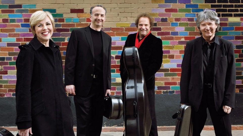 The Takács Quartet (Photo: Keith Saunders)
