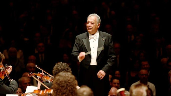 Zubin Mehta conducts the Israel Philharmonic Orchestra