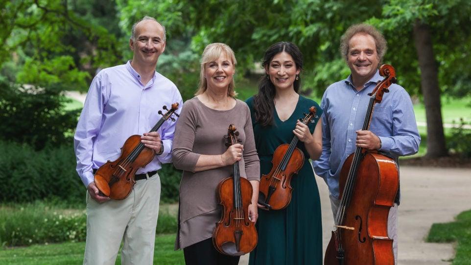 Takacs Quartet (Photo: Amanda Tipton)