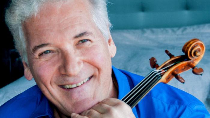 Violinist Pinchas Zukerman (Photo: Cheryl Mazak)