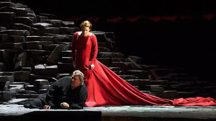 """Tristan und Isolde"" at the Vienna State Opera, 2013. Production by David McVicar."