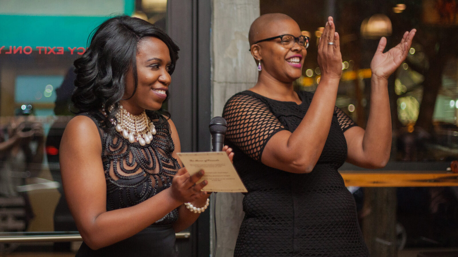 D-Composed founder and experience curator Kori Coleman and artistic director Danielle Taylor (Photo: Ally Almore)