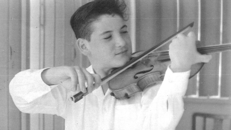 Pinchas Zukerman around the time Isaac Stern brought him to New York to study at Juilliard, c. 1962 (Photo courtesy of the artist)