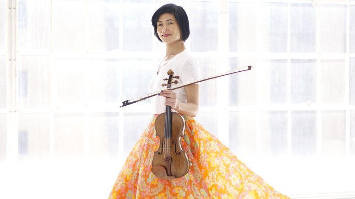 Violinist Jennifer Koh (Photo Juergen Frank)