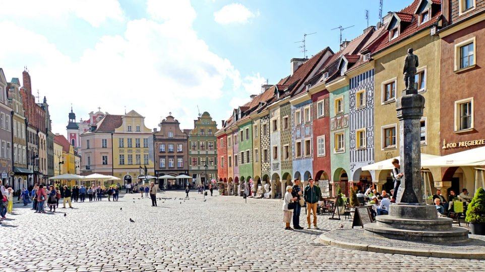 Market in Stare Miasto, Poznan, Greater Poland by Dennis Jarvis