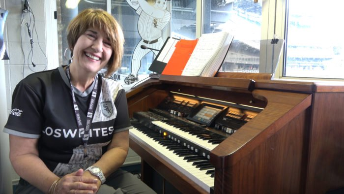 Meet organist Lori Moreland, one of the Chicago White Sox's most valuable players