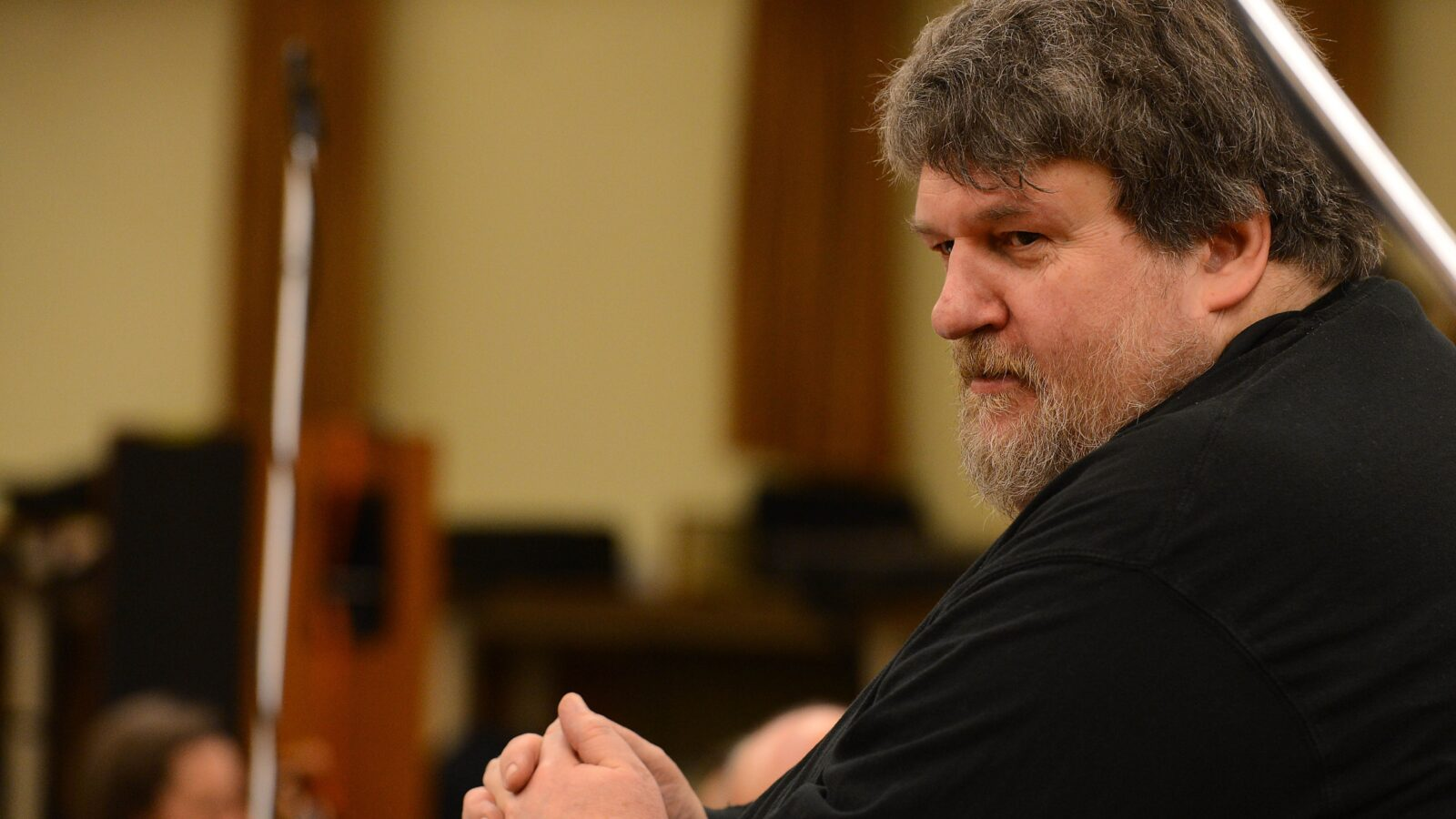 Oliver Knussen (Photo: Mark Allan/BBC)