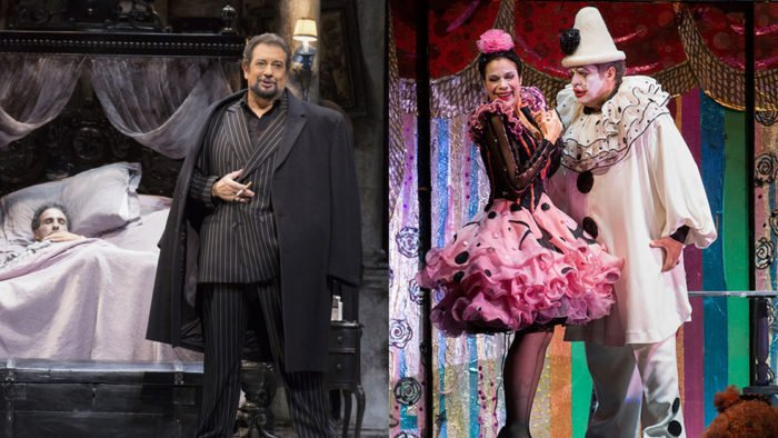 Los Angeles Opera's productions of Gianni Schicchi and Pagliacci (Photos: Craig T. Mathew / LA Opera)