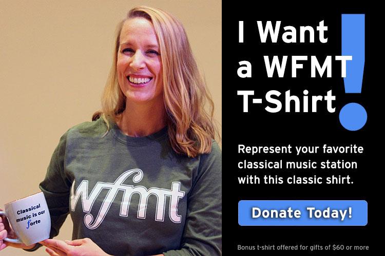 Keep WFMT strong!