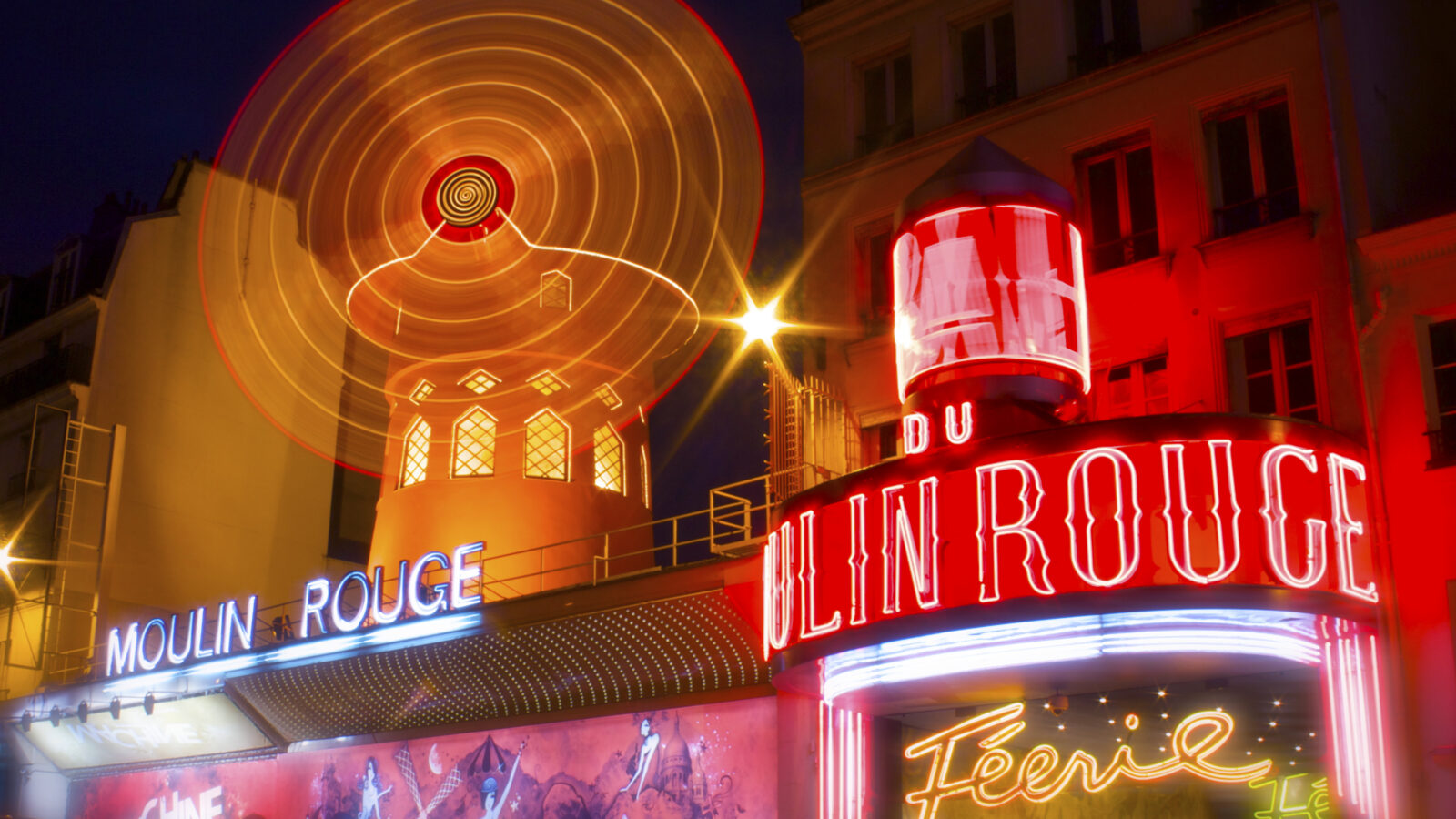 The Moulin Rouge, the famous French cabaret (Photo: Franck Vervial)