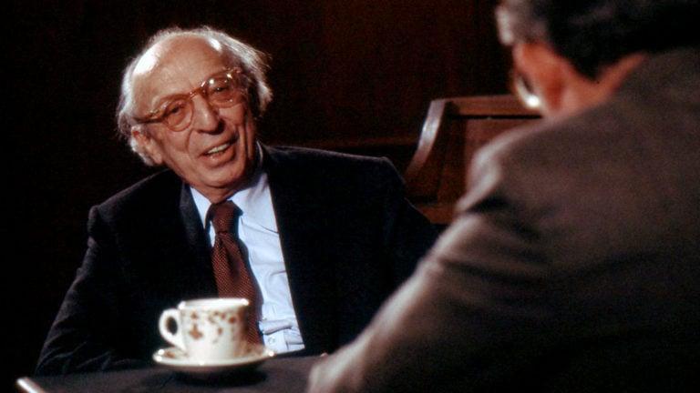 "Aaron Copland appeared on ""John Callaway Interviews"" on WTTW on September 14, 1981."