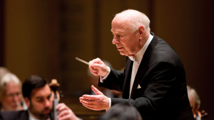 Bernard Haitink conducts the Chicago Symphony Orchestra (Photo: Todd Rosenberg)