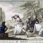 A cheerful dance awakens love and feeds hope with lively joy, (Florence, 1790)