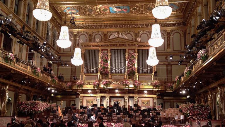 vienna musikverein new year music classical