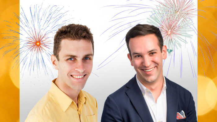 Hosts Robbie Ellis and Michael San Gabino share their musical New Year's Resolutions