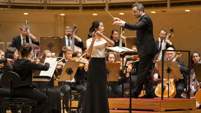14-year-old flutist Rosie Wang wins 2019 Crain-Maling Foundation Chicago Symphony Orchestra Young Artists Competition