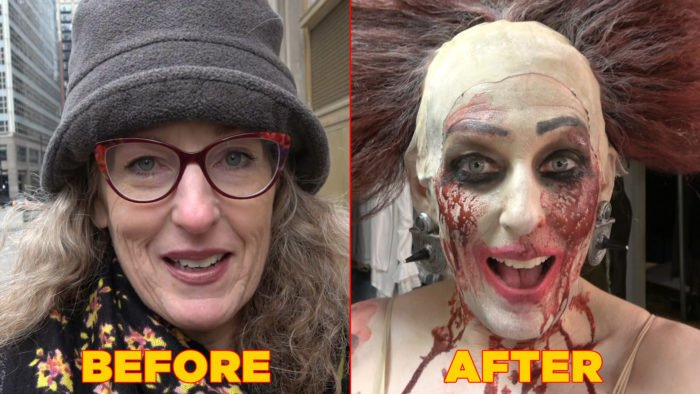 Maggie Clennon Reberg's dramatic transformation for Lyric Opera of Chicago's <i>Elektra</i>