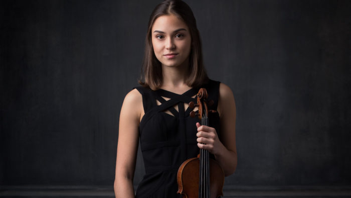 LIVE | Irina Casasnovas Jilobokov, 18, violin