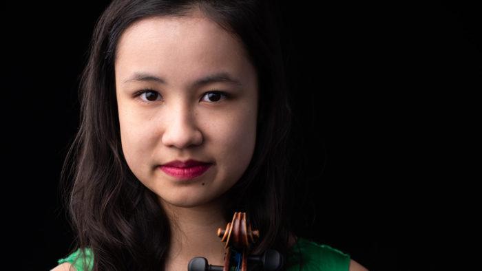 LIVE | Claire Arias-Kim, 17, violin