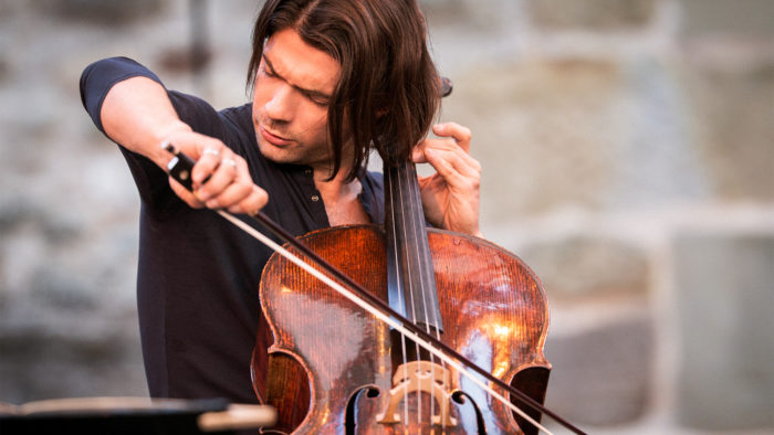 French cellist Gautier Capuçon shares emotional performance outside of Notre-Dame