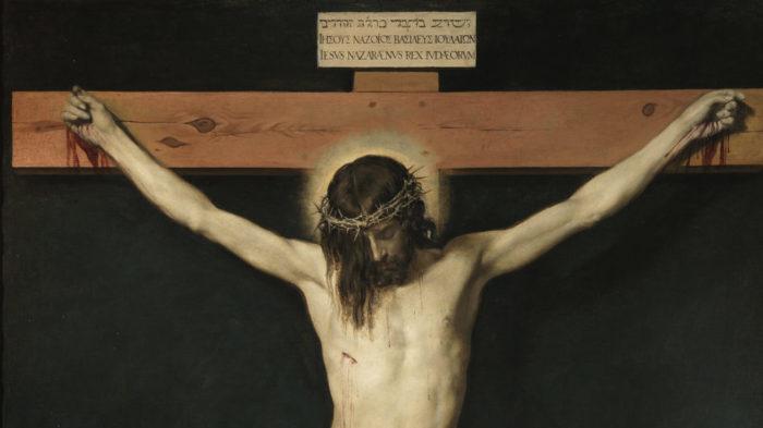 Velázquez: Cristo crucificado (detail)