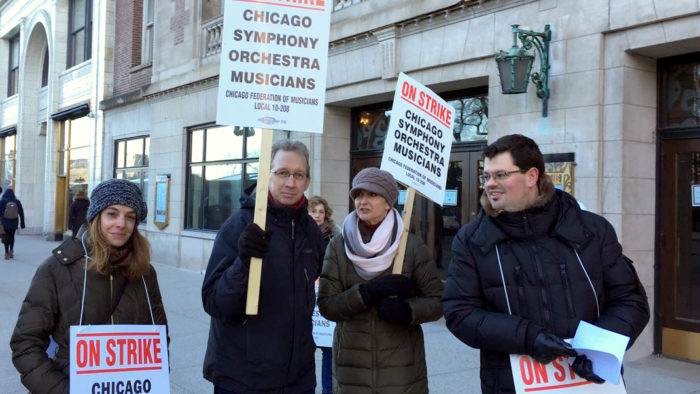 CSO musicians reject latest proposal, strike continues