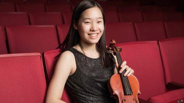 Hannah Lin, 18, violin