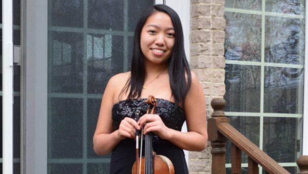 LIVE | Rachel Hsu, 18, violin