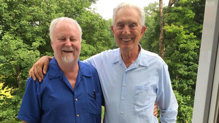 (L-R) Bill McGlaughlin and Arnold Steinhardt