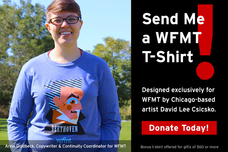 Keep WFMT strong!