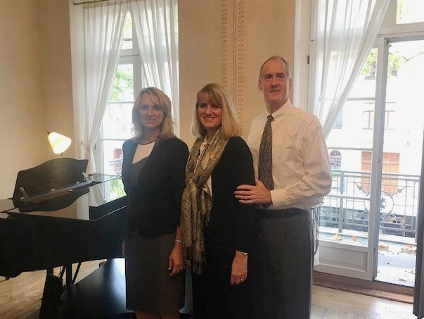 After a performance in Clara Schumann's house