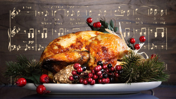 thanksgiving turkey music