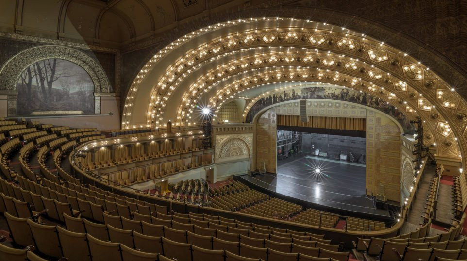 auditorium theatre 130 years after opening