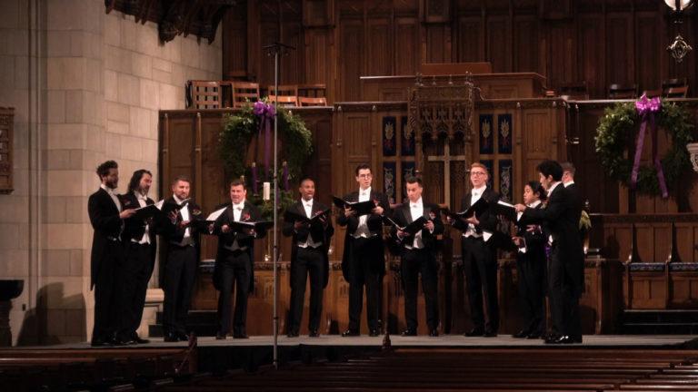 chanticleer perform fourth presbyterian