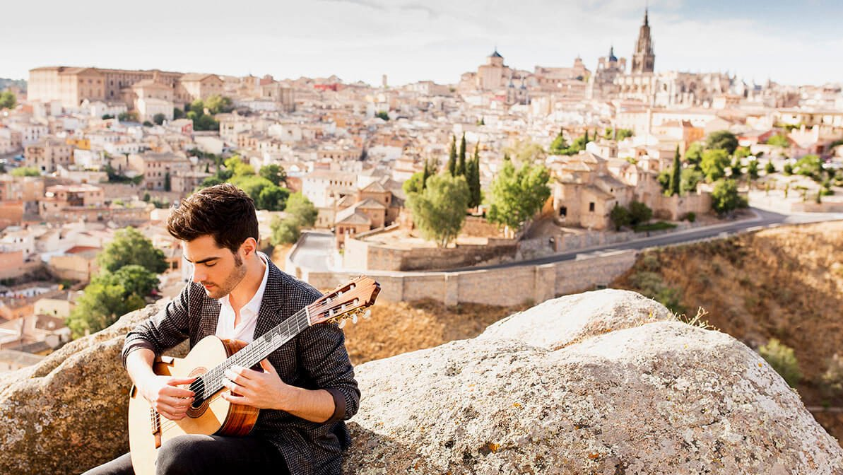 milos new album guitar sound of silence Miloš