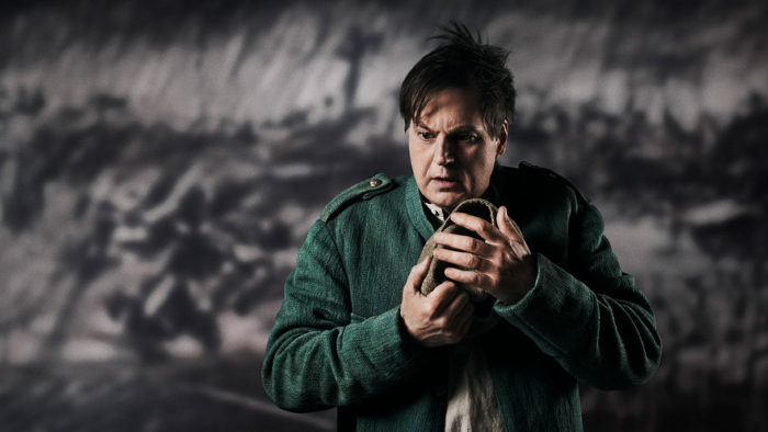 Peter Mattei as Wozzeck