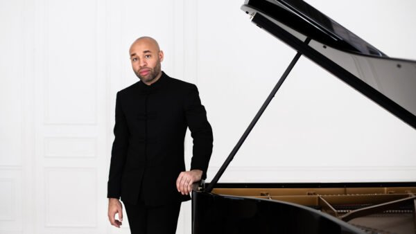This Friday: A Swinging Stride Piano Livestream with Aaron Diehl