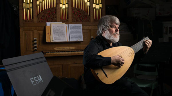 This Friday: Early music livestream with lutenist Paul O'Dette