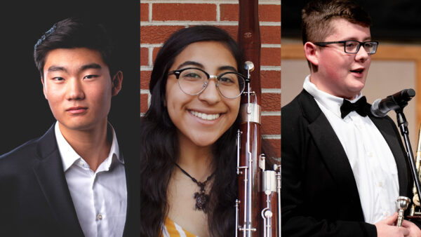 Aurora Piano Quartet, Lakeshore Winds, and The Bone Rangers