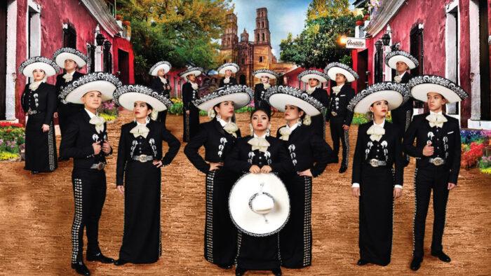 Mariachi Herencia de México group photo