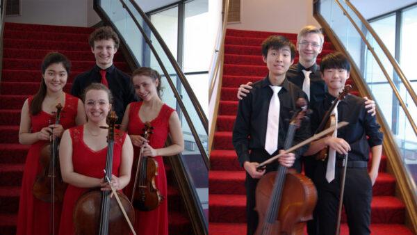 Quartet Lucciola and Trio Domino