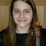 Patience Smith, 17, violinist in the Camerata Chicago Senior Academy Orchestra