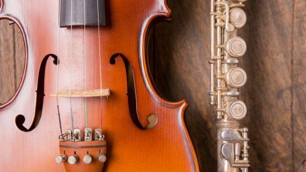 Omaggio String Quartet and Purple Hippopotami Flute Trio