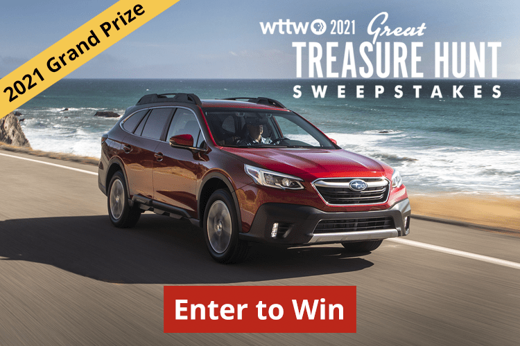 Enter the WTTW Great Treasure Hunt Sweepstakes 2021